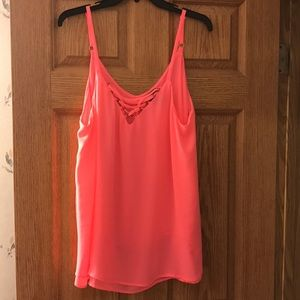 Neon Pink Cami - Perfect For Summer